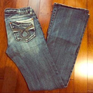 Big Star SWEET Low Boot Medium Wash Jeans